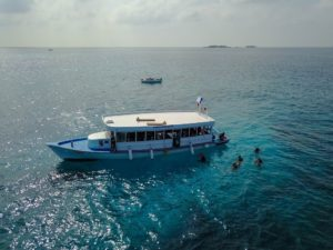 Photo of the dive boat of Rasdhoo Dive Centre