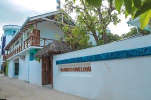 Photo of the Rasdhoo Dive Lodge on the Maldives