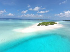 Photo of the sandbank Madivaru Finolhu