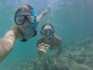 snorkelling Lobos