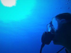 Photo of Ellis Derkx diving