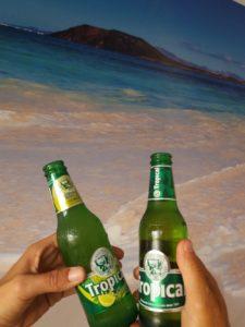 La Cerveza de Canarias Tropical